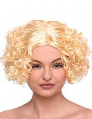 Blonde Lockenperücke für Damen