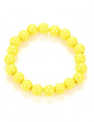 Perlenarmband gelb