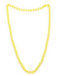Gelbe Perlenkette