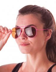 Pilotenbrille rosa
