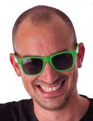 Neongrüne Sonnenbrille für Erwachsene