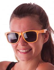 Sommerliche Brille für Erwachsene orangefarben
