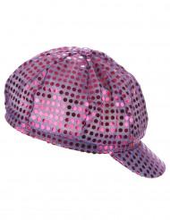 Mütze mit Pailletten Disco