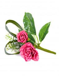 Rose Kunstblumen-Tischdekoration