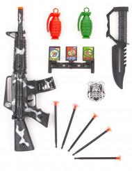 Militär-Set für Kinder mit Handgranaten Waffen-Spielzeug