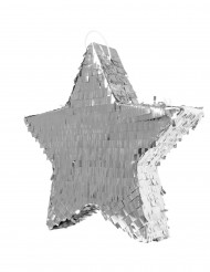 Silberner Stern-Piñata