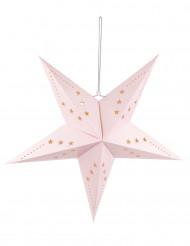 Stern-Laterne rosa 60 cm