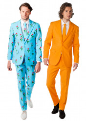Paarkostüm Opposuits™ Tulpe und Orange