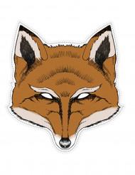 Fuchs Maske aus Pappkarton