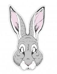 Kaninchen Maske aus Pappkarton