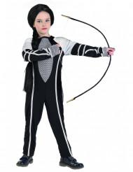 Überlebenskämpfer Kostüm für Mädchen