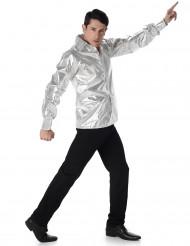 Disco Hemd im Pailletten-Look für Herren