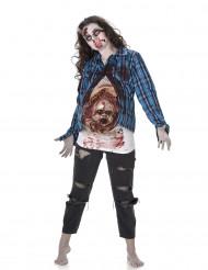 Zombie Kostüm für Damen - Halloween