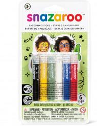 6 bunte Schminkstifte Snazaroo™