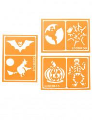 6 Schminkschablonen Halloween Snazaroo™