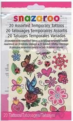 20 temporäre Tatoos für Mädchen Snazaroo™