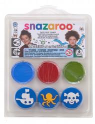 Mini Schmink-Set Unterwasser & Piraten Snazaroo™