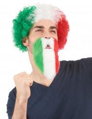 Italienischer Fan-Bart für Erwachsene