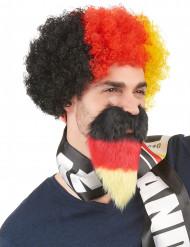 Deutscher Fan-Bart für Erwachsene