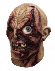 Animierte Zombie Maske Hand bemalt