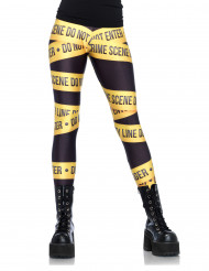 Crime Scene Legging