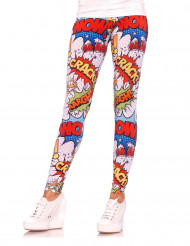 Comicstrip-Leggings für Damen