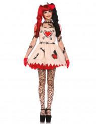 Voodoo-Puppe Kostüm für Damen - Halloween