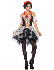Calavera-Kostüm Dia de los Muertos