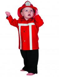 Feuerwehrmann Kostüm für Kleinkinder
