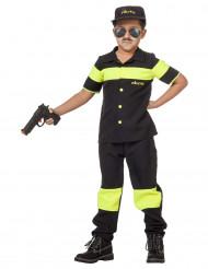 Niederländischer Polizist Kostüm für Kinder