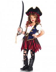 Hochwertiges Piratenkostüm für Mädchen