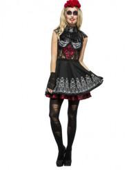 Originelles Skelett-Kostüm für Damen
