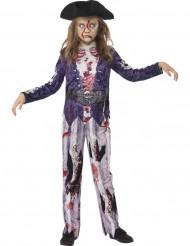 Zombie-Piratenkostüm für Kinder
