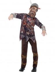 Zombie Wikinger Kostüm für Kinder Halloween