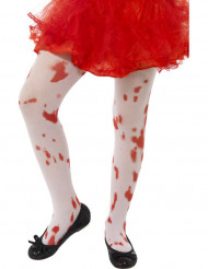 Blutige Halloween Strumphose für Kinder