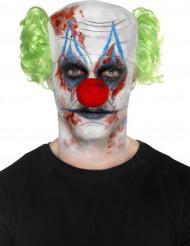 Set Clown Make-up und Zubehör Erwachsene Halloween