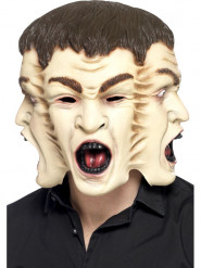 Halloween Maske 3 Gesichter
