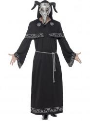Schwarzer Magier Kostüm für Erwachsene