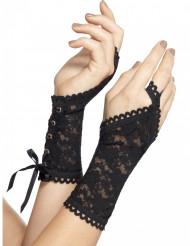 Kurze Handschuhe mit Spitze für Erwachsene