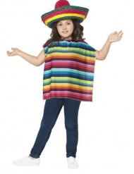 Ponche und Sombrero für Kinder