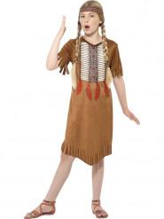 Apachen-Indianerin Kostüm für Mädchen