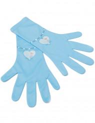 Blaue Elsa - Die Eiskönigin™ Handschuhe für Mädchen