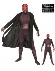 Zapper Darth Maul™ Morphsuit™ Kostüm für Erwachsene