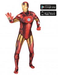 Zapper Iron Man™ Morphsuit™ Kostüm für Erwachsene