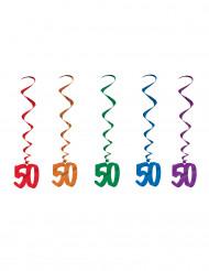 """5 Suspendierungen """"50"""" Jahre"""