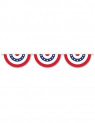 USA-Wimpel-Girlande blau-weiss-rot 3,66m