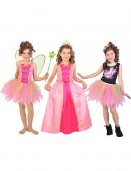 3 in 1 Set Fee Prinzessin Popstar für Mädchen