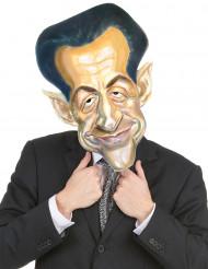 Nicola Sarkozy Maske für Erwachsene