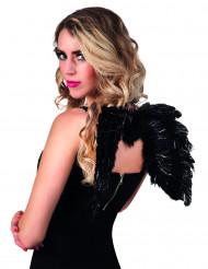 Schwarze Engel Flügel 48x35 cm