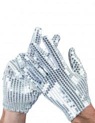 Silber Handschuhe